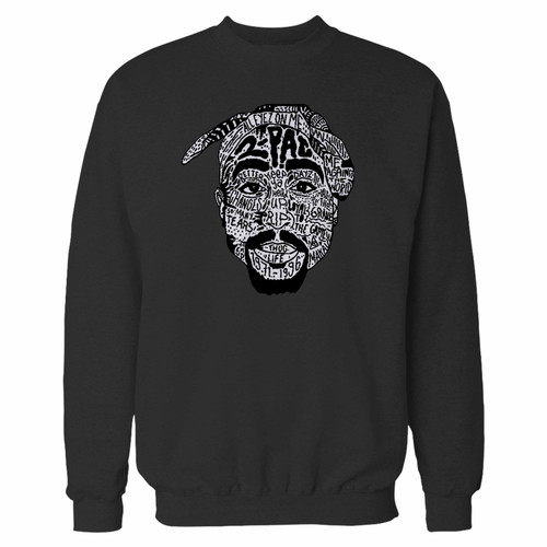 Your tupac music hip hop crewneck sweatshirt just got an update. This super comfortable and lighter weight crewneck will become your favorite go-to sweatshirt. The cozy spandex cuffs and waistband make this pill-resistant sweatshirt a fan favorite.And your group will look and feel their best in this premium ringspun cotton crew.