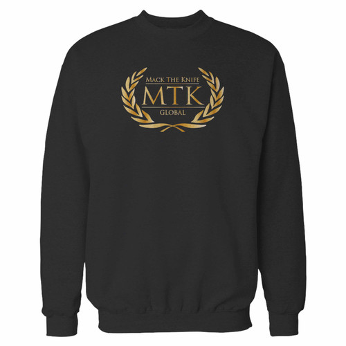 Your tyson fury boxing club logo mtk global inspired crewneck sweatshirt just got an update. This super comfortable and lighter weight crewneck will become your favorite go-to sweatshirt. The cozy spandex cuffs and waistband make this pill-resistant sweatshirt a fan favorite.And your group will look and feel their best in this premium ringspun cotton crew.