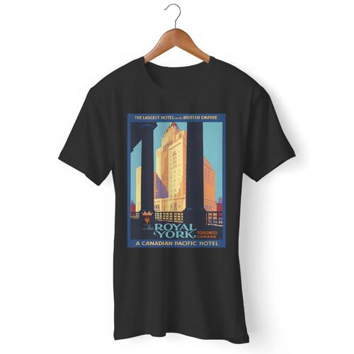1920's Vintage Royal York Hotel Men T Shirt