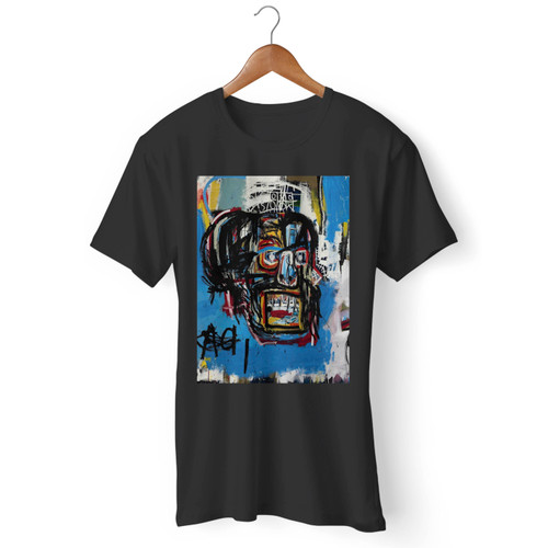 Jean Michel Basquiat Artist Graffiti Icon Art Men T Shirt