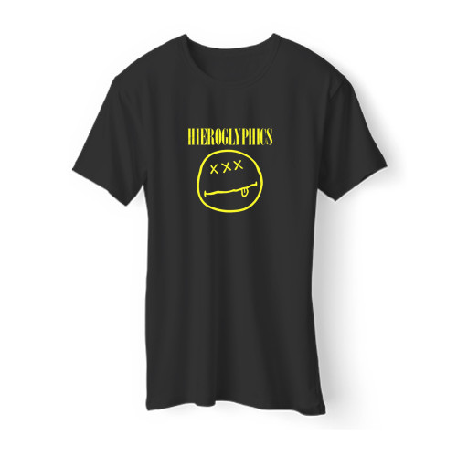 Nirvana Hieroglyphics Parody Men T Shirt