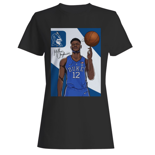 These are zion williamson duke basketball women t shirt that are cute tied to the side or paired with a cardigan or jacket for a more styled look. So comfy and classic, they are sure to make your vacation extra magical.