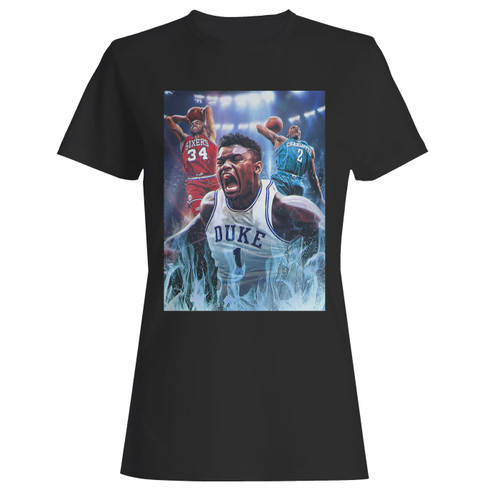 These are zion williamson duke women t shirt that are cute tied to the side or paired with a cardigan or jacket for a more styled look. So comfy and classic, they are sure to make your vacation extra magical.