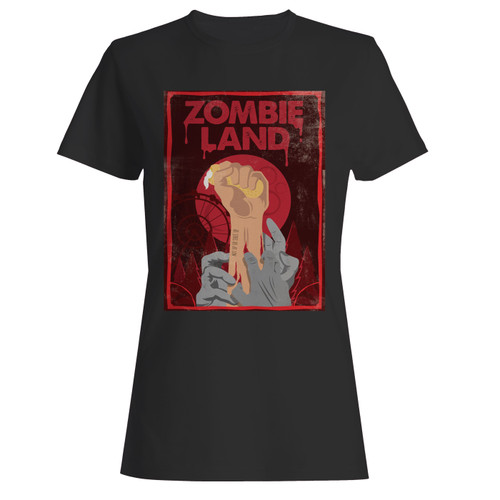 These are zombieland double tap hand women t shirt that are cute tied to the side or paired with a cardigan or jacket for a more styled look. So comfy and classic, they are sure to make your vacation extra magical.