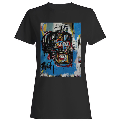 These are jean michel basquiat artist graffiti icon art women t shirt that are cute tied to the side or paired with a cardigan or jacket for a more styled look. So comfy and classic, they are sure to make your vacation extra magical.