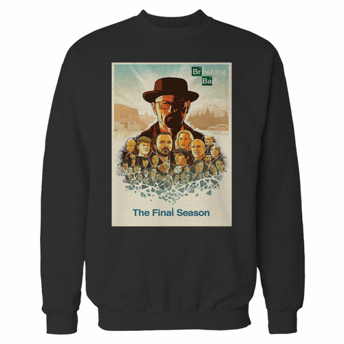 Your breaking bad crewneck sweatshirt just got an update. This super comfortable and lighter weight crewneck will become your favorite go-to sweatshirt. The cozy spandex cuffs and waistband make this pill-resistant sweatshirt a fan favorite.And your group will look and feel their best in this premium ringspun cotton crew.