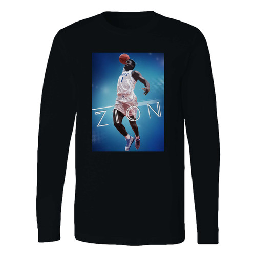 This classic fit zion williamson basketball player long sleeve shirt is casually elegant and very comfortable. With fine quality print to make one stand out, it's a perfect fit for every occasion.