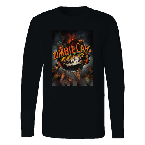 This classic fit zombieland double tap roadtrip long sleeve shirt is casually elegant and very comfortable. With fine quality print to make one stand out, it's a perfect fit for every occasion.