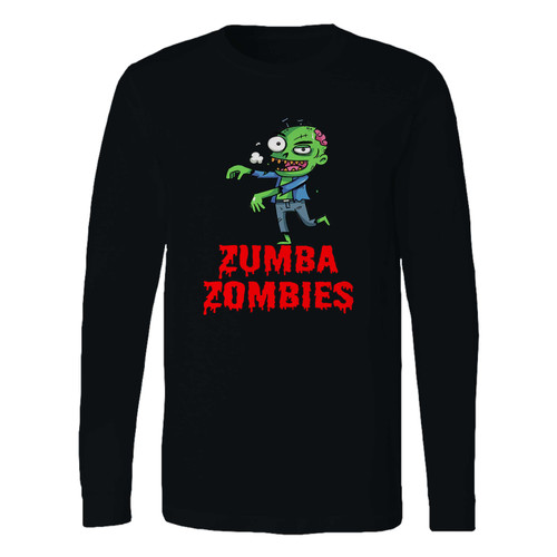 This classic fit zumba zombies long sleeve shirt is casually elegant and very comfortable. With fine quality print to make one stand out, it's a perfect fit for every occasion.