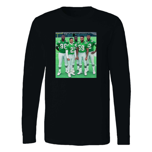 This classic fit 1991 philadelphia eagles long sleeve shirt is casually elegant and very comfortable. With fine quality print to make one stand out, it's a perfect fit for every occasion.