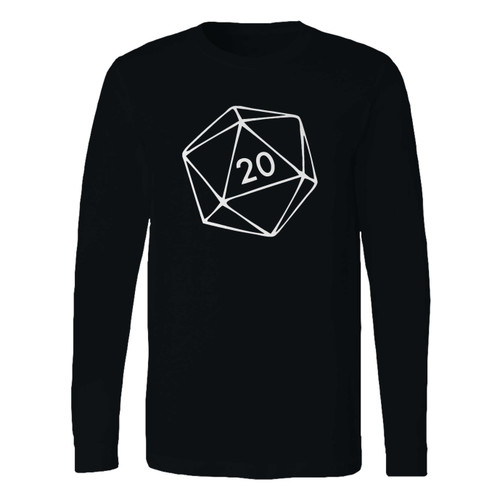 This classic fit 20 sided dice long sleeve shirt is casually elegant and very comfortable. With fine quality print to make one stand out, it's a perfect fit for every occasion.