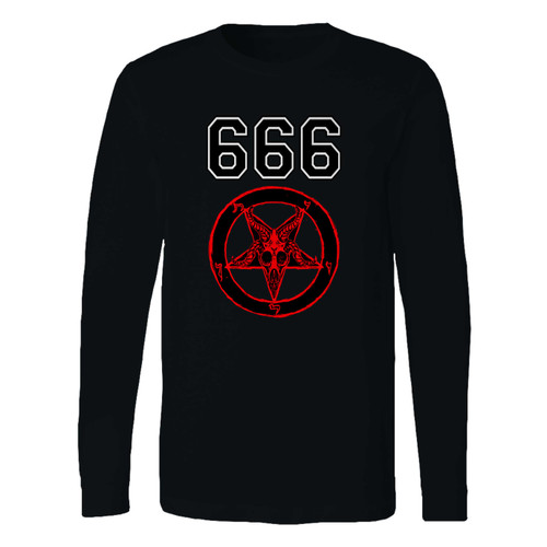 This classic fit 666 zippered 1 long sleeve shirt is casually elegant and very comfortable. With fine quality print to make one stand out, it's a perfect fit for every occasion.