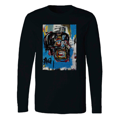This classic fit jean michel basquiat artist graffiti icon art long sleeve shirt is casually elegant and very comfortable. With fine quality print to make one stand out, it's a perfect fit for every occasion.