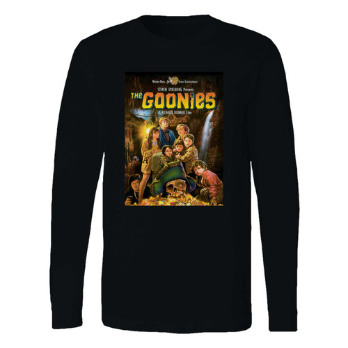This classic fit the goonies long sleeve shirt is casually elegant and very comfortable. With fine quality print to make one stand out, it's a perfect fit for every occasion.