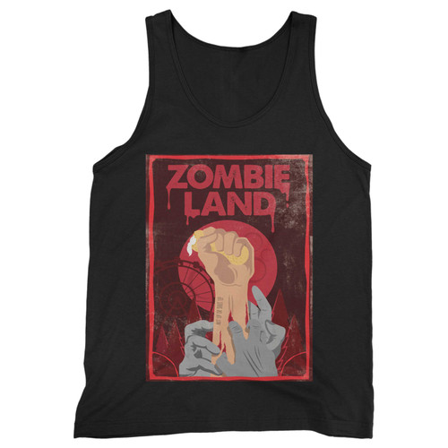 Our cotton zombieland double tap hand men tank top is perfect for those intense workouts in the gym, at practice or pickup games.