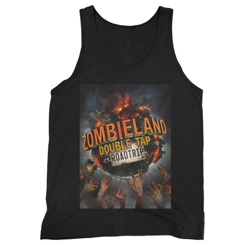 Our cotton zombieland double tap roadtrip men tank top is perfect for those intense workouts in the gym, at practice or pickup games.