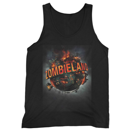 Our cotton zombieland movie men tank top is perfect for those intense workouts in the gym, at practice or pickup games.