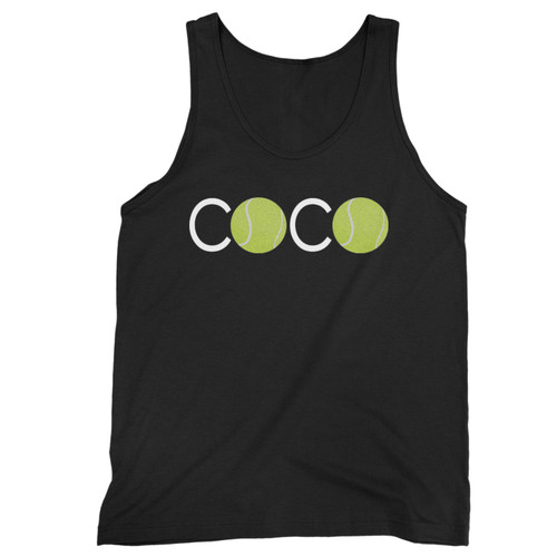 Our cotton coco x tennis men tank top is perfect for those intense workouts in the gym, at practice or pickup games.