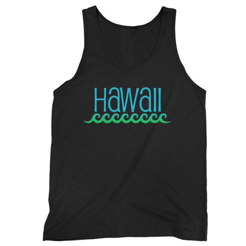 Our cotton hawaii beach waves men tank top is perfect for those intense workouts in the gym, at practice or pickup games.