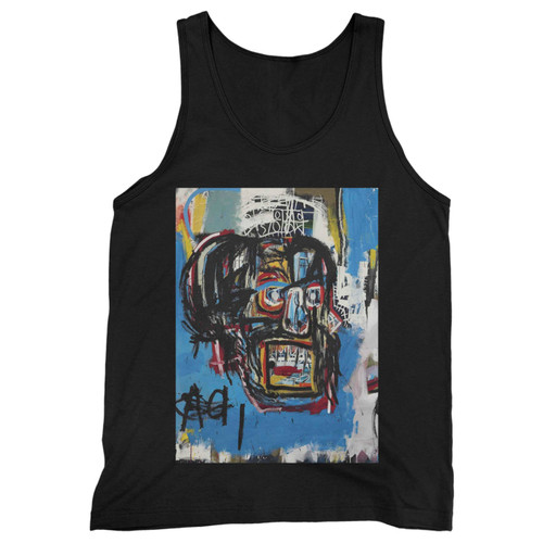 Our cotton jean michel basquiat artist graffiti icon art men tank top is perfect for those intense workouts in the gym, at practice or pickup games.