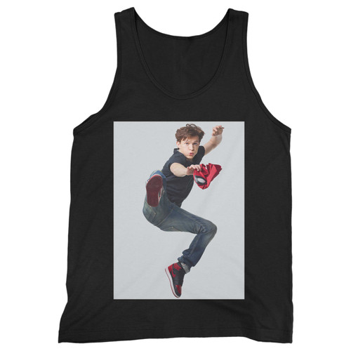 Our cotton tom holland spiderman men tank top is perfect for those intense workouts in the gym, at practice or pickup games.