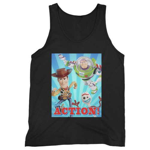Our cotton toy story takin action men tank top is perfect for those intense workouts in the gym, at practice or pickup games.