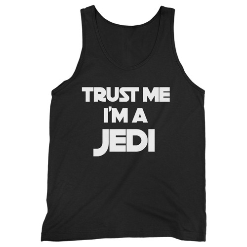 Our cotton trust me im a jedi men tank top is perfect for those intense workouts in the gym, at practice or pickup games.