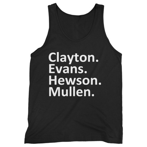 Our cotton u2 band members men tank top is perfect for those intense workouts in the gym, at practice or pickup games.