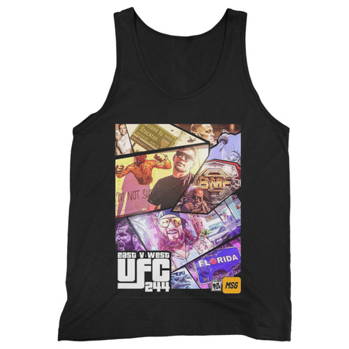 Our cotton ufc 244 mma men tank top is perfect for those intense workouts in the gym, at practice or pickup games.