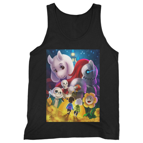Our cotton undertale inspired men tank top is perfect for those intense workouts in the gym, at practice or pickup games.