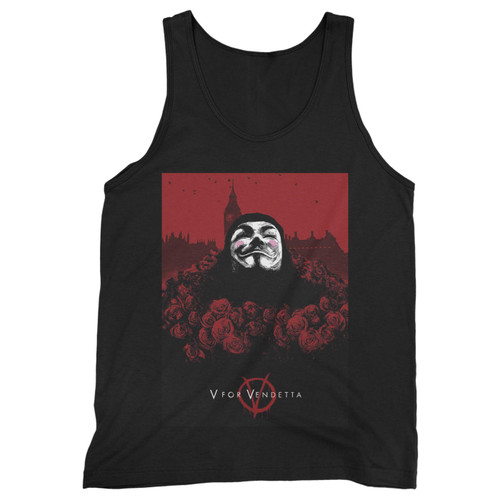 Our cotton v for vendetta mask men tank top is perfect for those intense workouts in the gym, at practice or pickup games.