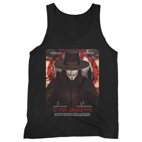 Our cotton v for vendetta mystery movie men tank top is perfect for those intense workouts in the gym, at practice or pickup games.