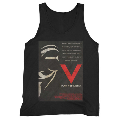 Our cotton v for vendetta quotes men tank top is perfect for those intense workouts in the gym, at practice or pickup games.