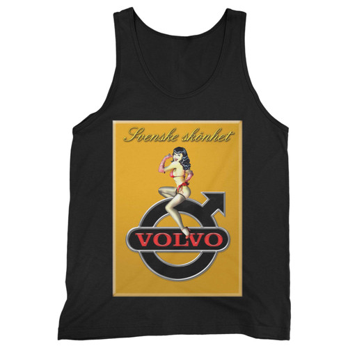 Our cotton volvo logo girls men tank top is perfect for those intense workouts in the gym, at practice or pickup games.
