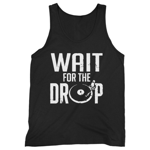 Our cotton wait for the drop men tank top is perfect for those intense workouts in the gym, at practice or pickup games.