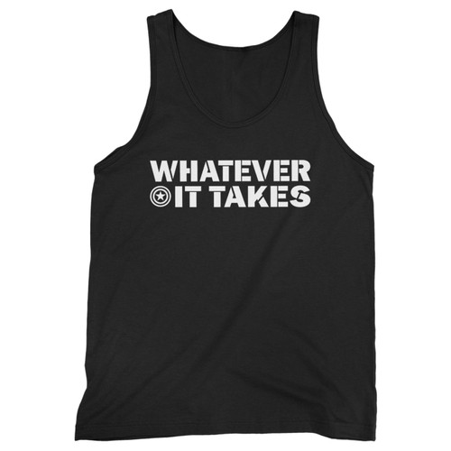 Our cotton whatever it takes avengers men tank top is perfect for those intense workouts in the gym, at practice or pickup games.