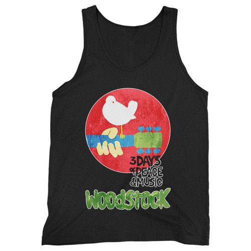 Our cotton woodstock 1969 music festival men tank top is perfect for those intense workouts in the gym, at practice or pickup games.