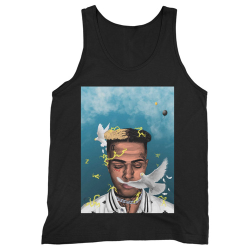 Our cotton xxxtentacion remembrance men tank top is perfect for those intense workouts in the gym, at practice or pickup games.