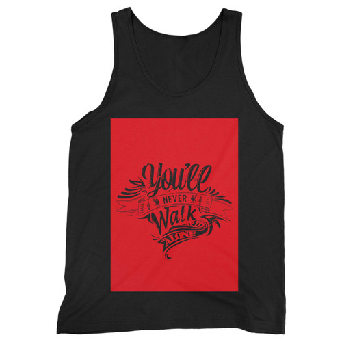 Our cotton you'll never walk alone liverpool men tank top is perfect for those intense workouts in the gym, at practice or pickup games.