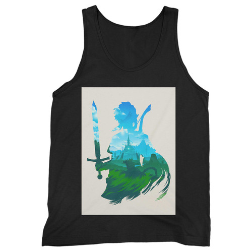 Our cotton zelda breath of the wild men tank top is perfect for those intense workouts in the gym, at practice or pickup games.