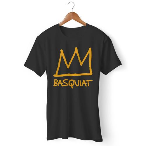 Jean Michel Basquiat Inspired Men T Shirt