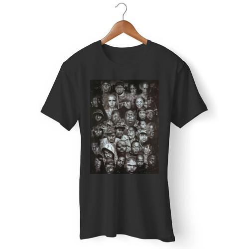 Legends Of Rap And Hip Hop Men T Shirt