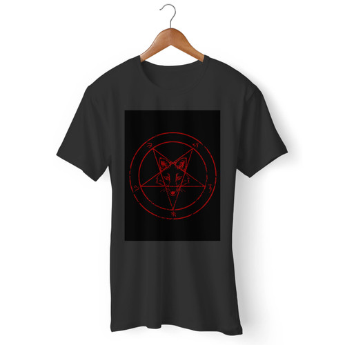 Metal Fox Men T Shirt