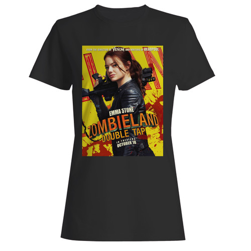 These are zombieland double tap movie women t shirt that are cute tied to the side or paired with a cardigan or jacket for a more styled look. So comfy and classic, they are sure to make your vacation extra magical.