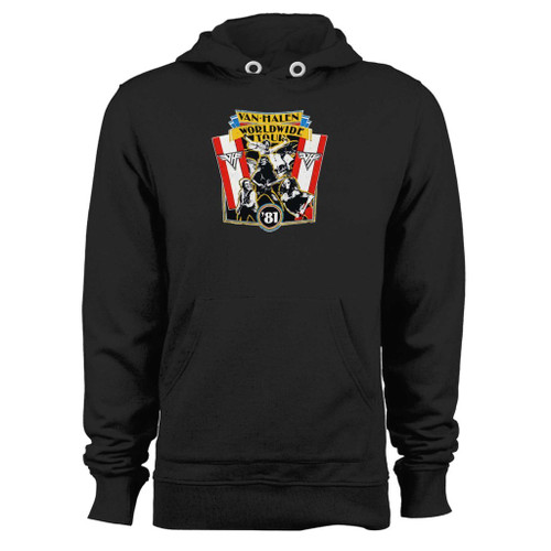 Was created with comfort in mind, this 1981 vintage van halen world wide tour hoodie lighter weight is perfect for any activity. Teams and groups love this hoodie for its affordable price and variety of colors.