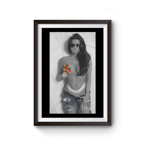 Abigail Ratchford Lollipop Sexy Poster