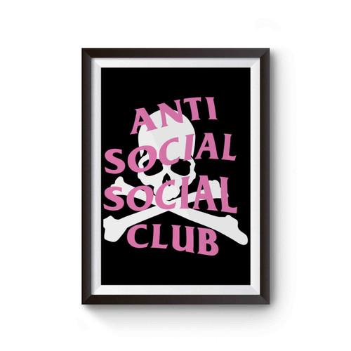 Anti Social Social Club And Mastermind Poster