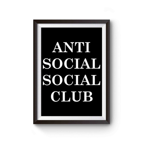 Anti Social Social Club Cover Inspired Poster