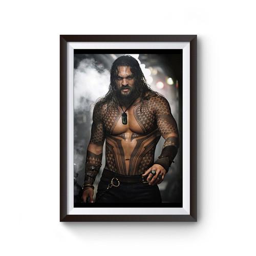 Aquaman Jason Momoa Poster