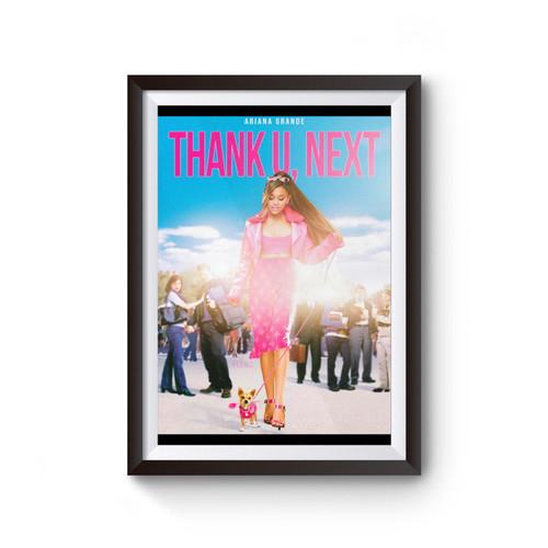 Ariana Grande Thank U Next Movie Poster